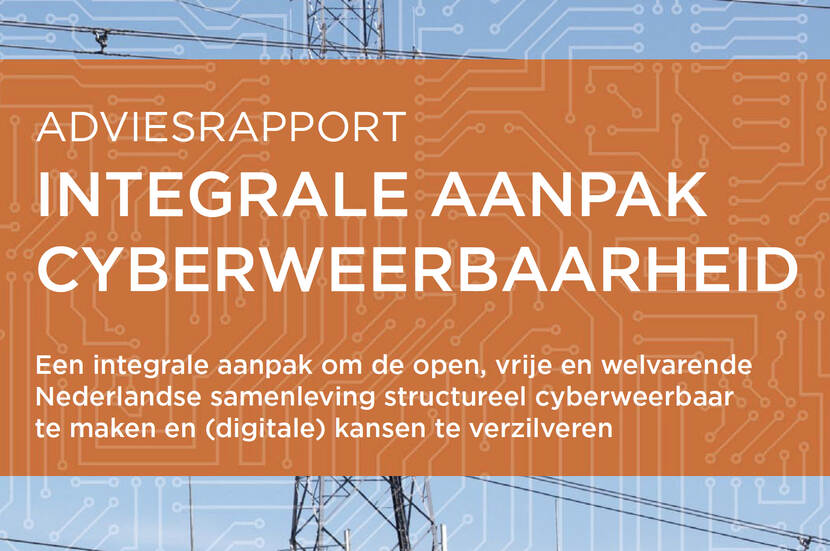 Cover CSR Adviesrapport Integrale aanpak cyberweerbaarheid